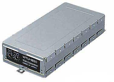 Яティーオーエー/TOA 音響機器【WTU-1820】ワイヤレスチューナーユニット PLLシンセサイザー方式 ダイバシティ