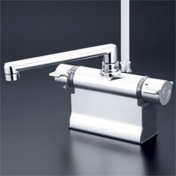 『カード対応OK!』KVK 水栓金具デッキ形サーモスタット式シャワー【KF3011ZTS2】(寒冷地用)