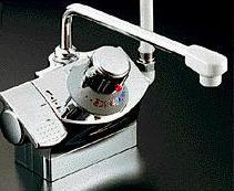 KVK【KF821G】デッキ形サーモスタット式シャワー(シャワー右側)