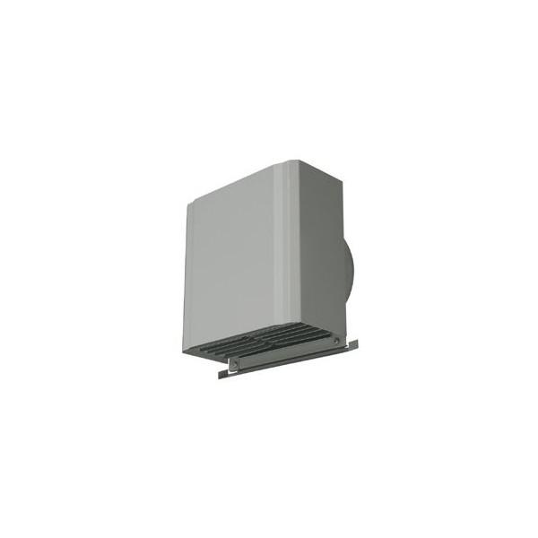 『カード対応OK!』■メルコエアテック 換気扇部材 深形スクエアフード(不燃・耐湿タイプ)【AT-100HWSB】外壁用(ステンレス製)接続口サイズφ100 横ギャラリ・網