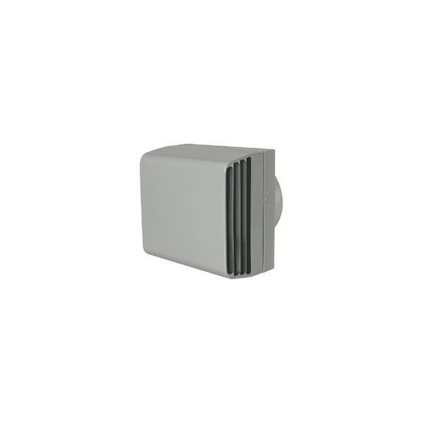 『カード対応OK!』■メルコエアテック 換気扇部材 左右開口タイプ耐外風フード(BL品)【AT-200TWSYD4-BL】外壁用(ステンレス製)接続口サイズφ200 縦ギャラリ・網