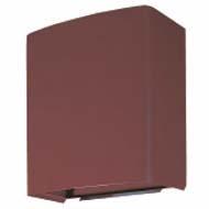 三菱 換気扇部材 【UW-20TDH(M)B】有圧換気扇システム部材 ウェザーカバー(三菱電機システムサービス製)