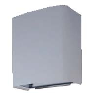 三菱 換気扇部材 【UW-30TDH(C)B】有圧換気扇システム部材 ウェザーカバー(三菱電機システムサービス製)