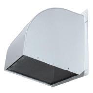 三菱換気扇部材 【W-80SAM-A】 有圧換気扇システム部材 ウェザーカバー(ステンレス)