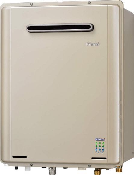 リンナイ ガスふろ給湯器【RUF-E2405AW(A)】屋外壁掛型 24号 ecoジョーズ ユッコUF 給湯・給水接続20A 設置フリータイプ フルオート
