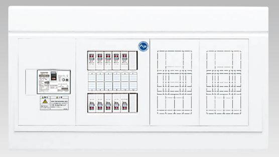 『カード対応OK!』●β東芝 電設資材【TFNPB3E6-204D】扉なし・基本タイプ 付属機器取付スペース×2付(主幹60A)