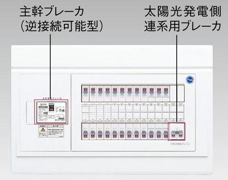 『カード対応OK!』●β東芝 電設資材【TFNPB3E10-162S3A】扉なし・機能付 太陽光発電システム用(二次送りタイプ)(主幹100A)
