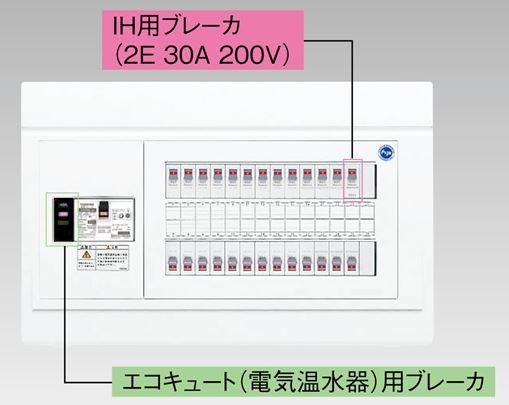 『カード対応OK!』●β東芝 電設資材【TFNPB3E4-142TB3B】扉なし・機能付 エコキュート(電気温水器)+IH用(主幹40A), 韓国食品辛国のキムチ物語:2d80d65d --- data.gd.no