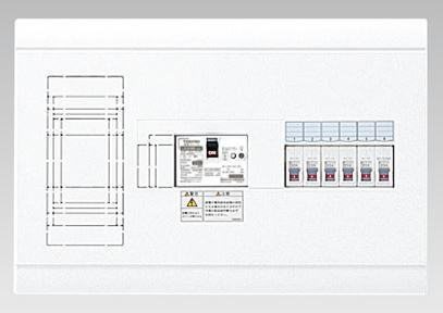 『カード対応OK!』●β東芝 電設資材【TFNSB13E6-51】扉なし・横一列・基本タイプ(主幹60A)