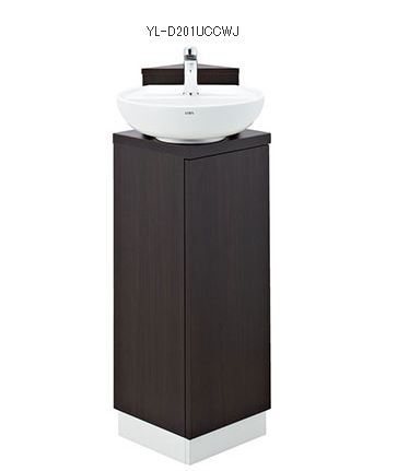 ###INAX/LIXIL コーナー手洗いキャビネット【YL-D201UCCWJ】温水自動水栓(電気温水器付)壁排水