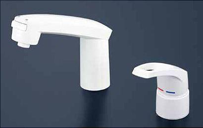 KVK 水栓金具【KM8007S2CN】シングルレバー式洗髪シャワー eシャワー シャワー引出しタイプ ヒートン付