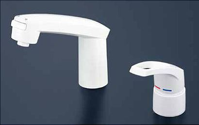 KVK 水栓金具【KM8007ZS2CN】シングルレバー式洗髪シャワー eシャワー シャワー引出しタイプ ヒートン付 寒冷地用