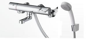 TOTO【新品番TMGG40SEZ】【旧品番TMHG40ECSZ/TMHG40CSRZ】スパウト長さ70mm エアイン(樹脂)シャワー 寒冷地仕様
