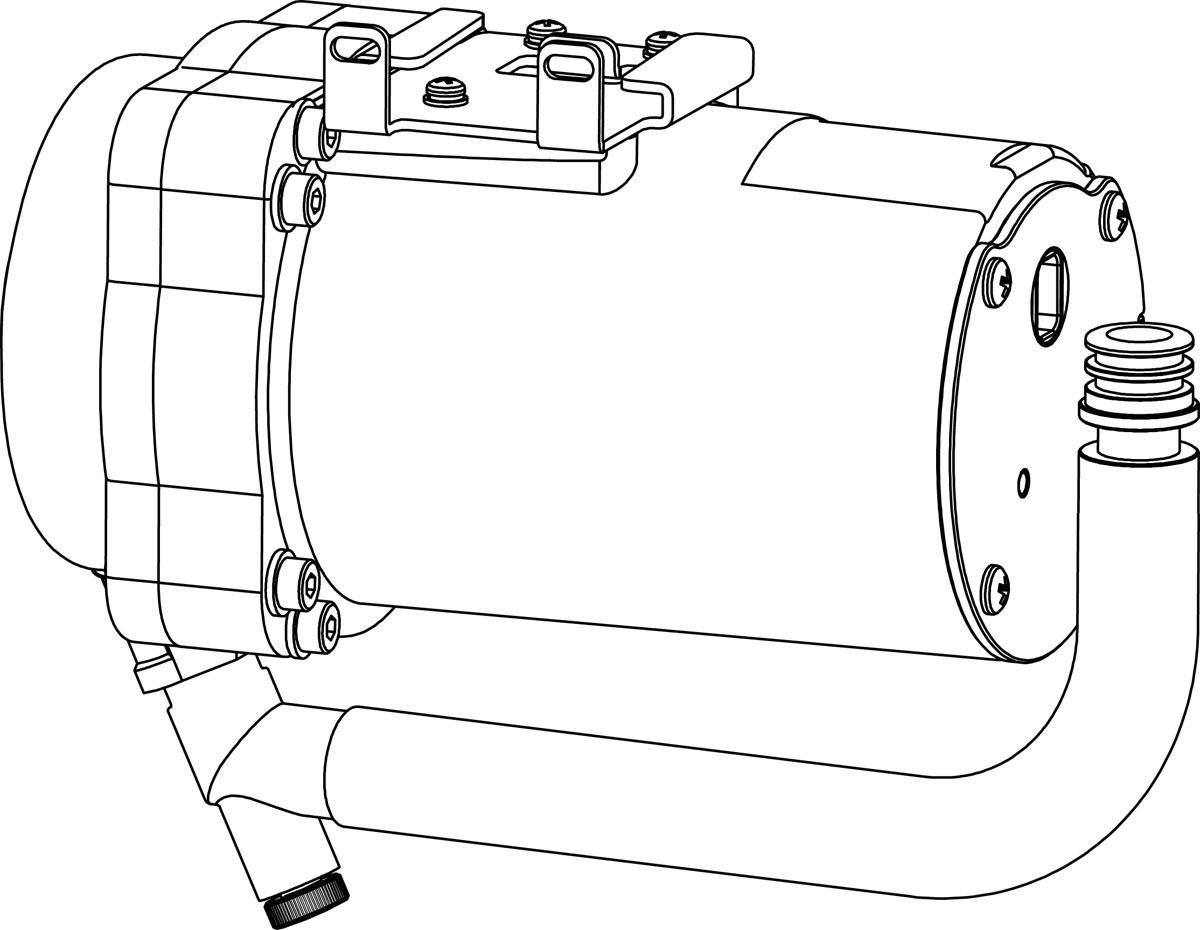 ▽INAX シャワートイレ用部品【CWA-217A】低流動圧対応ブースター(後付)