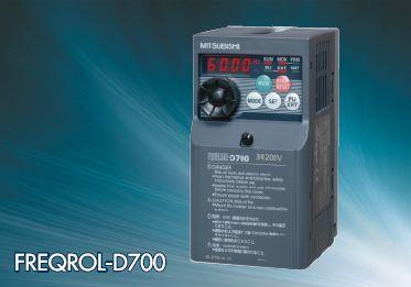 ###三菱【FR-D720-2.2K】汎用ファンインバータ 三相200V 適用モーター容量2.2Kw