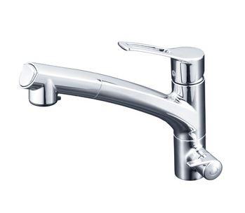 KVK【KM5061NCK】浄水器専用シングルレバー式シャワー付混合栓