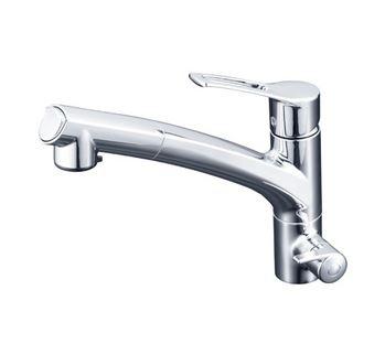『カード対応OK!』 KVK【KM5061NSCCK】浄水器付シングルレバー式シャワー付混合栓