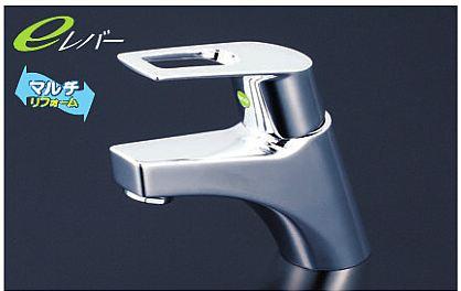 『カード対応OK!』 KVK【KM7001ZTEC】洗面用シングルレバー式混合栓 取り付け穴兼用型φ33mm~φ39mm 寒冷地仕様