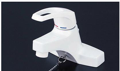 《あす楽》◆15時迄出荷OK!KVK【KM7014】洗面用シングルレバー式混合栓 ゴム栓付