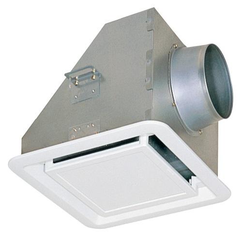 三菱 換気扇 業務用ロスナイ部材【PZ-N10GZM】(旧品番PZ-10GZM) フィルター付給気グリル(消音形・天井材組込形) 埋込寸法310mm角
