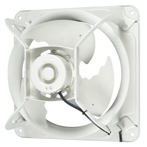 三菱【EWF-40ETA40A】(旧品番EF-40ETB40A5)40cm 産業用有圧換気扇 低騒音形 排気専用 400V級場所