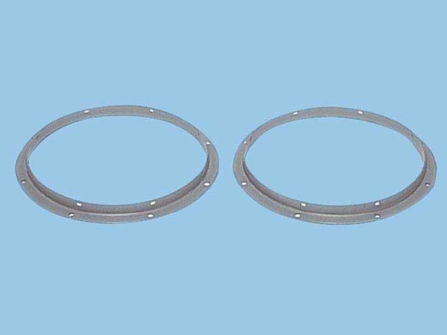 パナソニック換気扇部材【FY-MFL45】(FYMFL45) 斜流ダクトファン用フランジセット