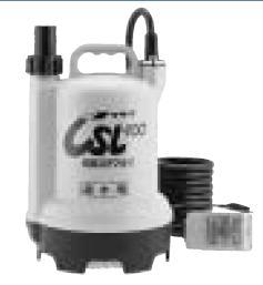 寺田 テラダポンプ【CSL-100L】底水用要部ステンレス水中ポンプ 非自動単相100V