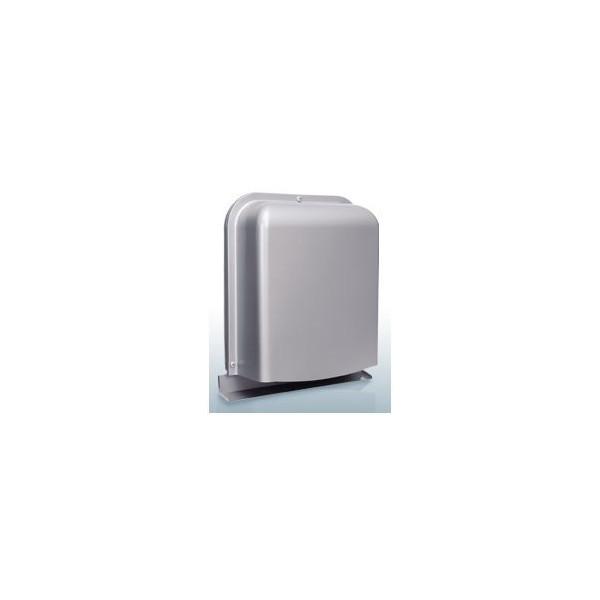 『カード対応OK!』西邦工業【GFND125GBSC】深型・薄型・金網3メッシュ・防音タイプ・下部開閉タイプ・防火ダンパー付防音型製品・ステンレス製換気口・ワイド水切り付