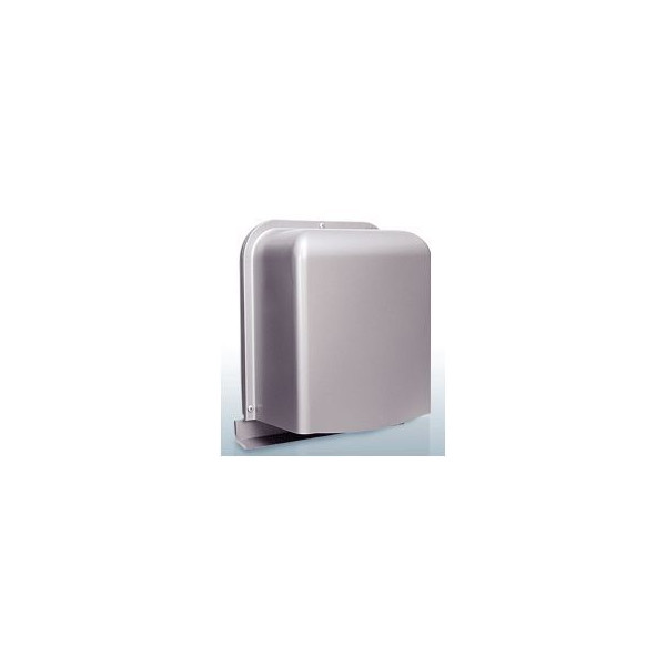 『カード対応OK!』西邦工業【GFX150ABS】深型・厚型・内ガラリ・防音タイプ・下部開放防音型製品・ステンレス製換気口・ワイド水切り付