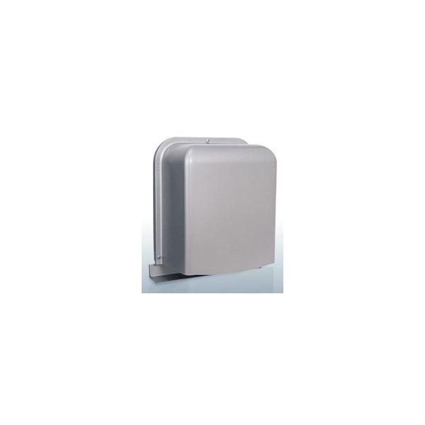 『カード対応OK!』西邦工業【GFXD100BYSC】深型・厚型・排気用・ガラリ型・防音タイプ・下部開閉タイプ・防火ダンパー付防音型製品・ステンレス製換気口・ワイド水切り付