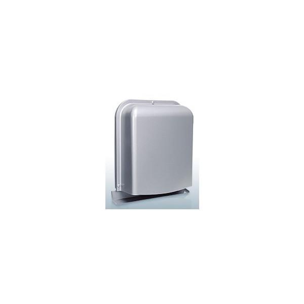 『カード対応OK!』西邦工業【GFXD175GBSC】深型・薄型・ガラリ型・防音タイプ・下部開閉タイプ・防火ダンパー付防音型製品・ステンレス製換気口・ワイド水切り付