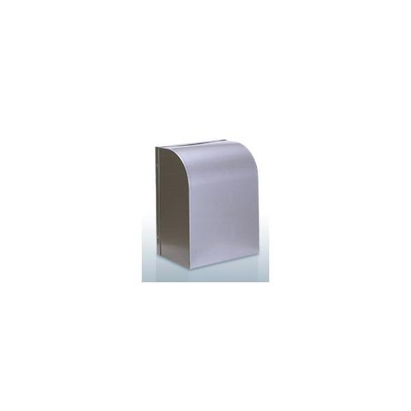 『カード対応OK!』西邦工業【WBD100BSC】角型フード・金網型3メッシュ・防音タイプ・防火ダンパー付防音型製品・ステンレス製換気口