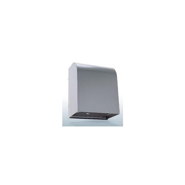 『カード対応OK!』西邦工業【WN100BFS】角型フード・金網型3メッシュ(吸音材:耐湿・油型)防音型製品・ステンレス製換気口