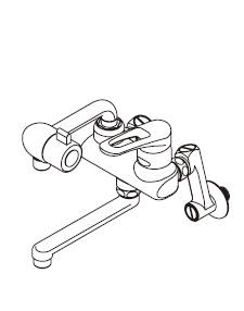 『カード対応OK!』ITOMIC イトミック水栓金具【MZ-1N3P】まぜまぜP MZ-N3