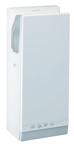 三菱 ハンドドライヤー【JT-SB116JH2-W】ジェットタオル スリムタイプ 簡易ヒーター付 ホワイト