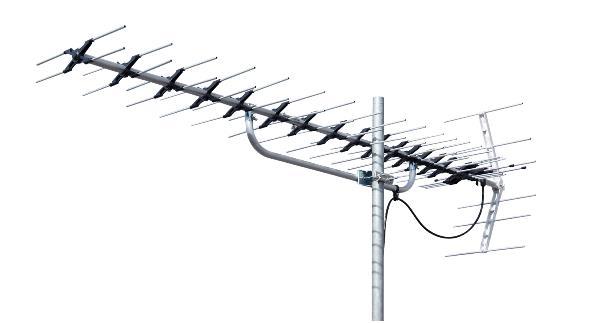 βアンテナ マスプロ 【LS206TMH】地上デジタル放送受信用 家庭用 UHFアンテナ 20素子