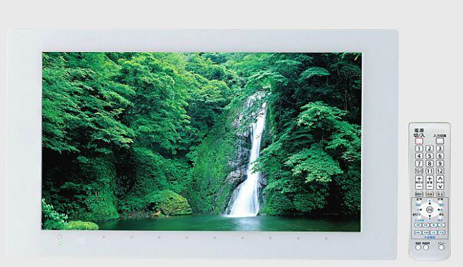 『カード対応OK!』TOTO 浴室テレビ【PTZ0070】16型ワイド リモコン付き