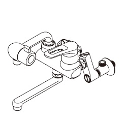 『カード対応OK!』ITOMIC イトミック水栓金具【MZ-7N3】まぜまぜMZ-N3