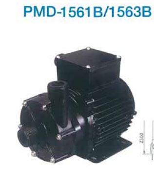 三相電機【PMD-1561B2V】小型マグネットポンプ フランジ接続 単相100V 50Hz60Hz共用