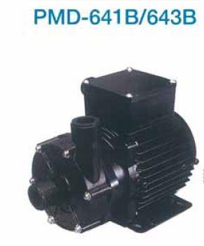 『カード対応OK!』三相電機 【PMD-641B2V】小型マグネットポンプ フランジ接続 単相100V 50Hz60Hz共用