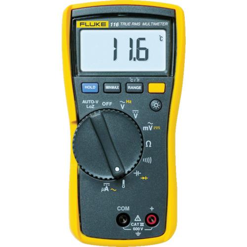 『カード対応OK!』■〒TFF フルーク社/FLUKE【116】(7657285) 電気設備用マルチメーター 受注単位1