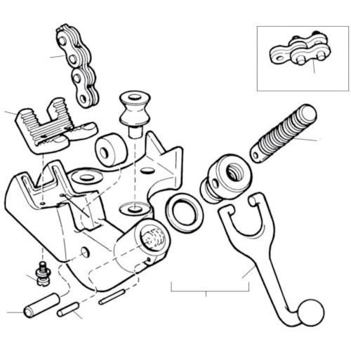 ■〒Ridge Tool Compan/RIDGE 部品【41140】(7882866) RIDGE D-92 ジョー F/BC-810 発注単位1