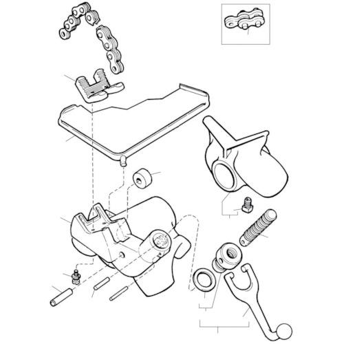 ■〒Ridge Tool Compan/RIDGE 部品【41165】(7882891) RIDGE ベース F/560 発注単位1