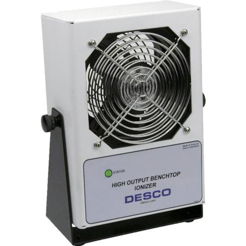 ■〒DESCO JAPAN/DESCO  静電気対策商品【60505】(8292384)ハイアウトプット作業台用イオナイザー 110V 50/60HZ 受注単位1