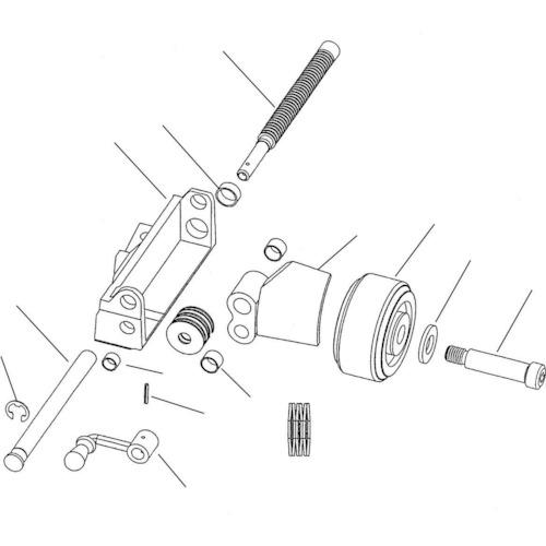 ■〒Ridge Tool Compan/RIDGE 部品【61832】(7883498) RIDGE ガイドシャフト 発注単位1