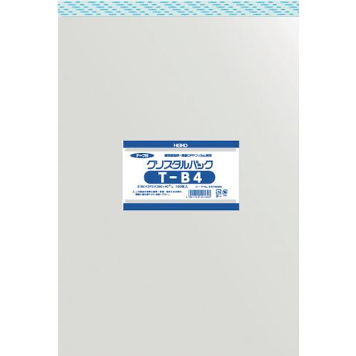 ■〒シモジマ/HEIKO 梱包資材【6743300 T27-38】(8562740)HEIKO OPP袋 テープ付き クリスタルパック T-B4 受注単位10