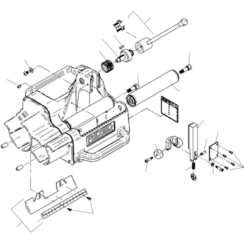 ■〒Ridge Tool Compan/RIDGE 部品【94937】(7884311) RIDGE アーバー F/122J 発注単位1
