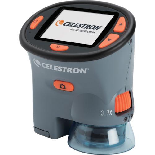 ■〒セレストロン社/CELESTRON 光学機器【CE44310】(8179797)CELESTRON ポータブルLCDデジタル顕微鏡 受注単位1