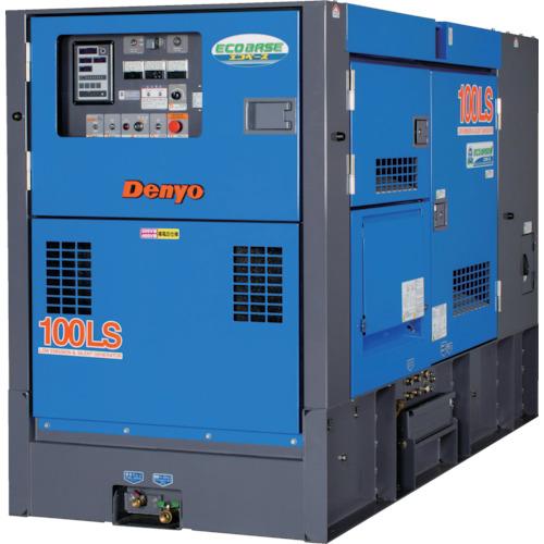 ###■〒デンヨー/デンヨー 発電機【DCA-100LSIE】(8184174) デンヨー 防音型ディーゼルエンジン発電機(エコベース) 発注単位1