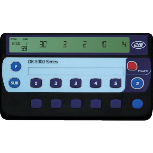 ■〒ライン精機/ライン精機 測定器【DK-5010B】(7782306) ライン精機 電子数取器 10連式 発注単位1